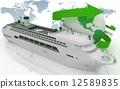 liner, world, voyage 12589835