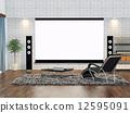 平板電視 影音設備 電影欣賞 12595091