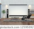 平板電視 影音設備 電影欣賞 12595092