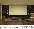 平板電視 影音設備 電影欣賞 12595094