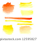 watercolor abstract paint 12595827