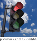 Traffic Light Red 12596666