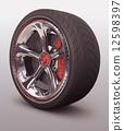 轮胎 车 磁盘 12598397