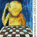 lonesome chess player 12601325