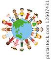세계의 아이들 _ 일러스트 12607431