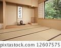 일본 전통 건축, 도코노마, 다다미방 12607575