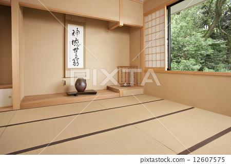 壁龕和室日式房間-圖庫照片[1260...