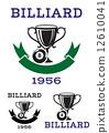 emblem, ball, billiard 12610041