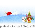 不 非 新年的圣诞树装饰 12620519