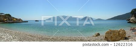 Panoramic seashore in Alonissos 12622316