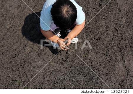 모래 장난 12622322