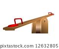 playground, seesaw, balance 12632805