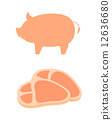 돼지고기, 돼지, 돼지 고기 12636680