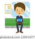 商务人士 商人 智能手机 12641077