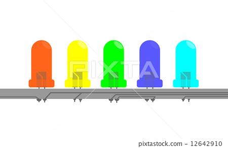 Illustration of LED 12642910