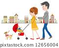 家庭 爸爸 夫婦 12656004