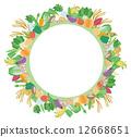 frame, vegetables, vegetable 12668651