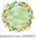 蔬菜框架 12668652