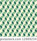isometric, background, pattern 12669234