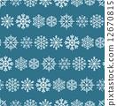 winter, vector, snowflake 12670815