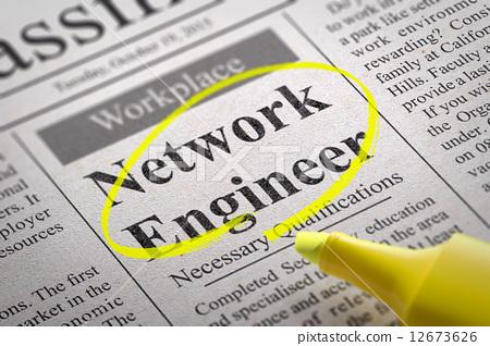 Network Engineer Vacancy in Newspaper. 12673626