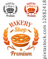 bakery symbol label 12682418
