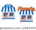store, pizzeria, icon 12682459