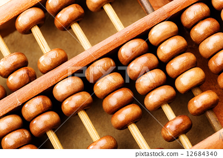 Chinese abacus 12684340