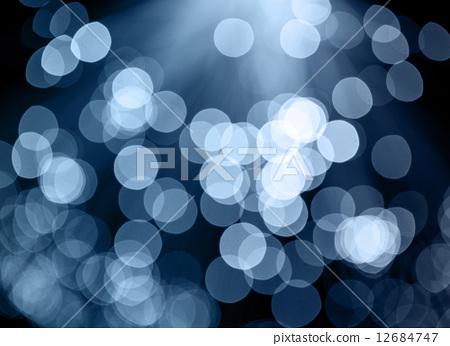 Lights on blue background 12684747