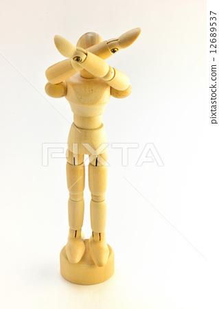 Drawing Doll Model Puppet - Stock Photo [12689537] - PIXTA
