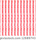 Pastel crayon background with red and white stripes 12689743