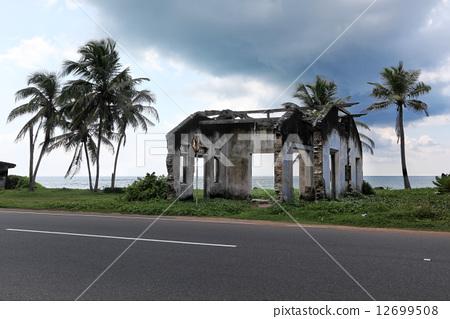 House ruined by tsunami 12699508