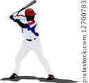 vector, illustration, ball 12700783