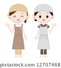 雇员 员工 女生 12707468