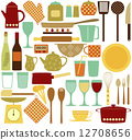 kitchen tools, cup, cookware 12708656