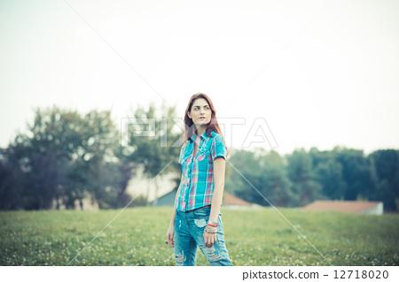 hipster, rebel, woman 12718020