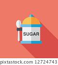 부엌, 설탕, 아이콘 12724743