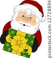 Santa Gift 12728894