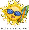 Surfer Sun 12728977