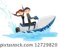 Jet Ski Couple 12729820