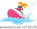 Jet Ski Girl 12730178