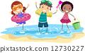 海滩 女孩 少女 12730227