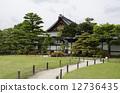 nijo castle, important cultural property, bonsai 12736435