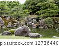 nijo castle, outer citadel garden, Japanese Gardens 12736440