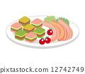 전채, 여러, 식사 12742749
