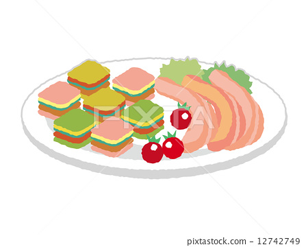 Hors d'oeuvres side dish 12742749