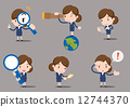 business women character - find  12744370