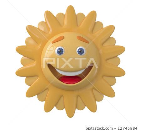 The 3D Sun laughs 12745884