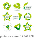 bioproducts, natural, logo 12746728