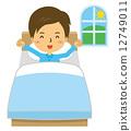 wake up, wake, vector 12749011